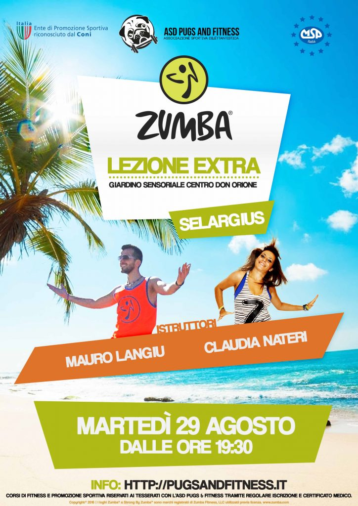 lezione-extra-zumba-agosto-pugs-and-fitness-mauro-claudia