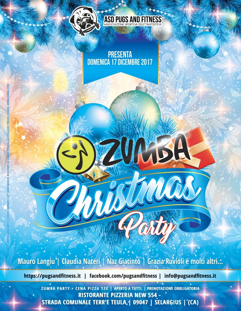 Zumba Christmas Party Images.Festa Di Natale Zumba Christmas Party A S D Pugs And